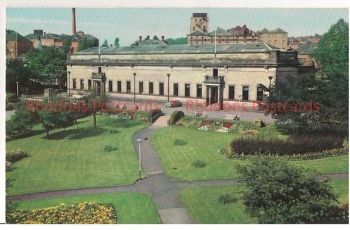 Kirkcaldy Art Galleries And Library, Fife, Scotland. 1960s Postcard