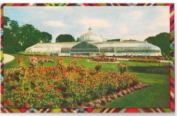 Botanic Gardens, Glasgow, Lanarkshire, Scotland. 1970s