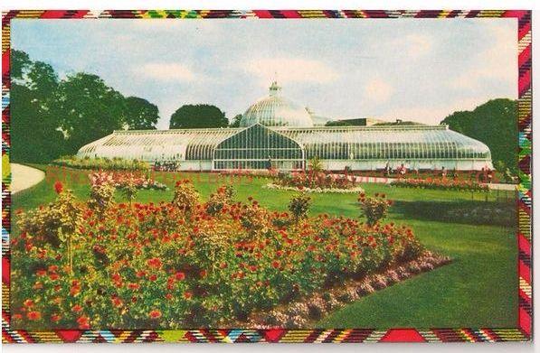 Scotland: Lanarkshire. Botanic Gardens, Glasgow, 1970s Postcard