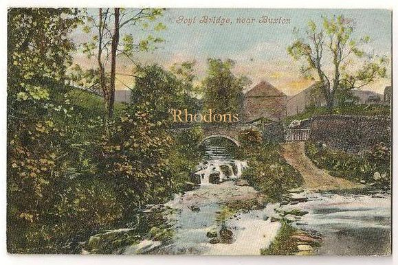 England: Derbyshire. Goyt Bridge Near Buxton, Valentines Early 1900s