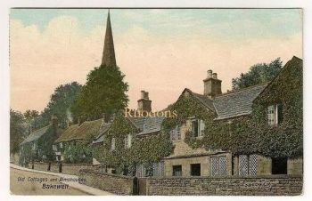 Derbyshire: Old Cottages & Almshouses Bakewell, Valentines, Early 1900s