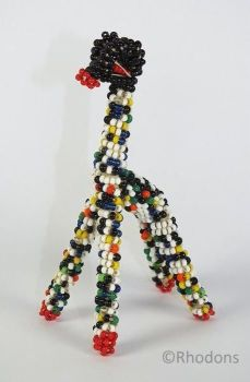 Glass Beaded Baby Giraffe. 1950s / 1960s