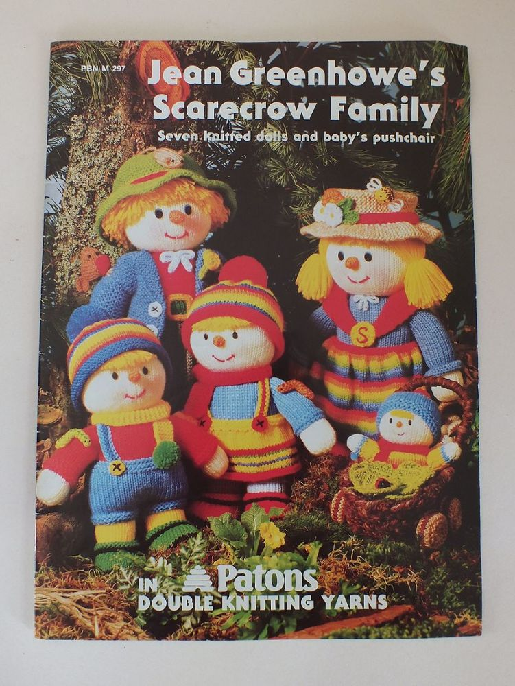 Jean Greenhowes Scarecrow Family Knitting Patterns Booklet. ISBN 1-873193-01-7