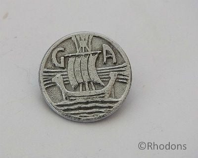 Girls Association Scotland Badge, Viking Long Ship