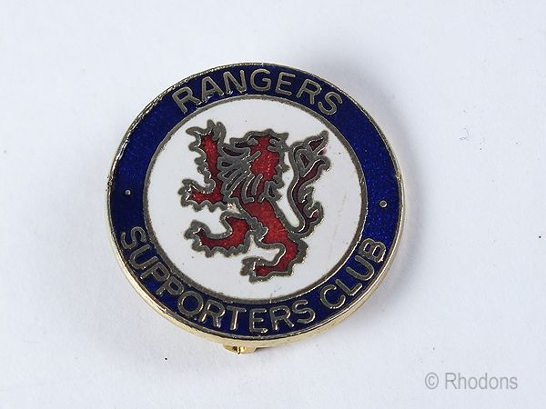 Glasgow Rangers Football Club Supporters Badge