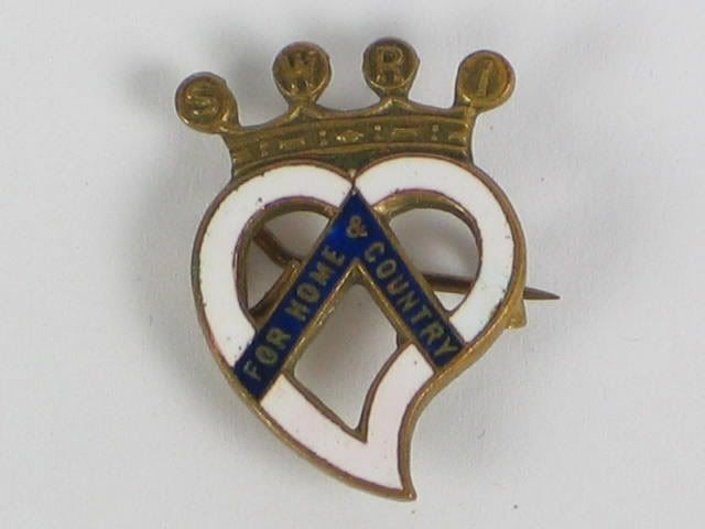 Scottish Womens Rural Institutes, 'For Home and Country' Badge