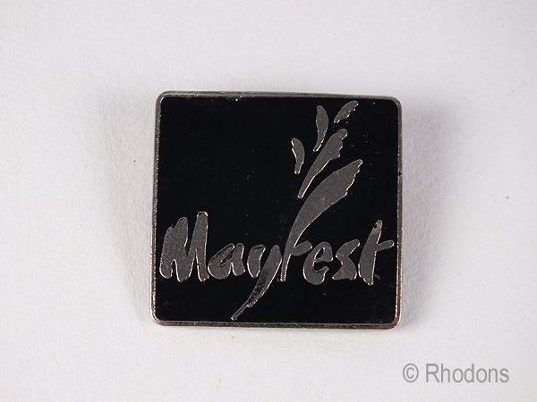 Mayfest Enamel Pin Badge