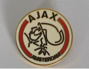 Ajax Amsterdam Football Club Supporters Enamel Badge