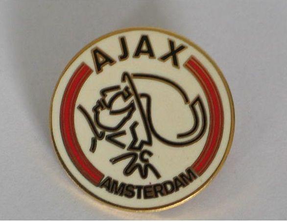Ajax Amsterdam Football Club Supporters Enamel Badge