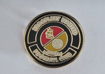 Ebbsfleet United Football Club Enamel Pin Badge