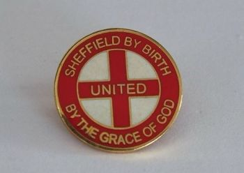 Sheffield United F C Badge - Sheffield By Birth United By The Grace Of God