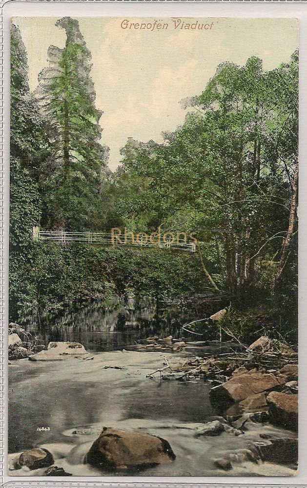 England: Devon. Grenofen Viaduct, Postcard