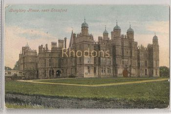 Burghley House Near Stamford, Used 1904