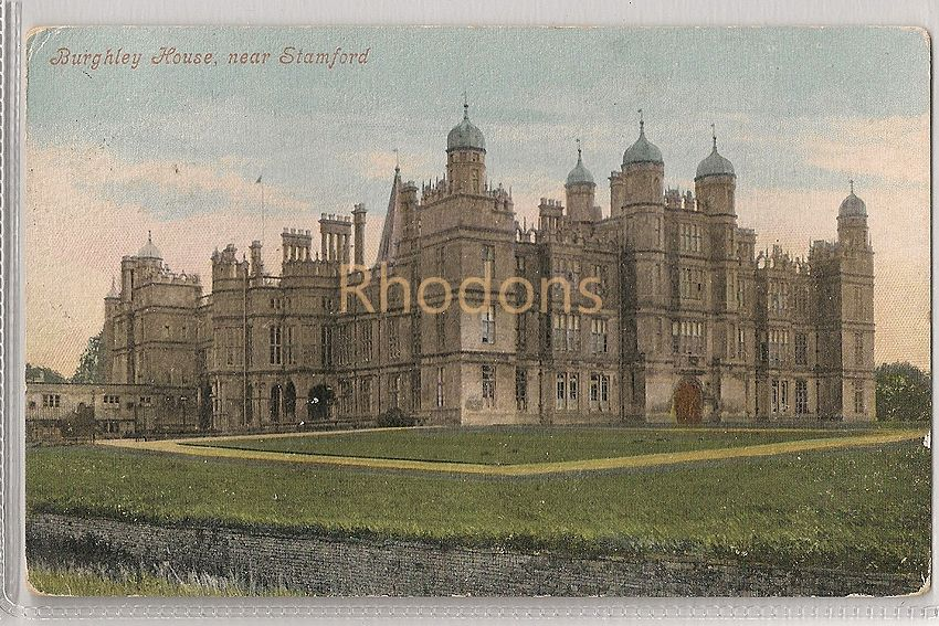 England: Lincolnshire. Burghley House Near Stamford. Valentines Series