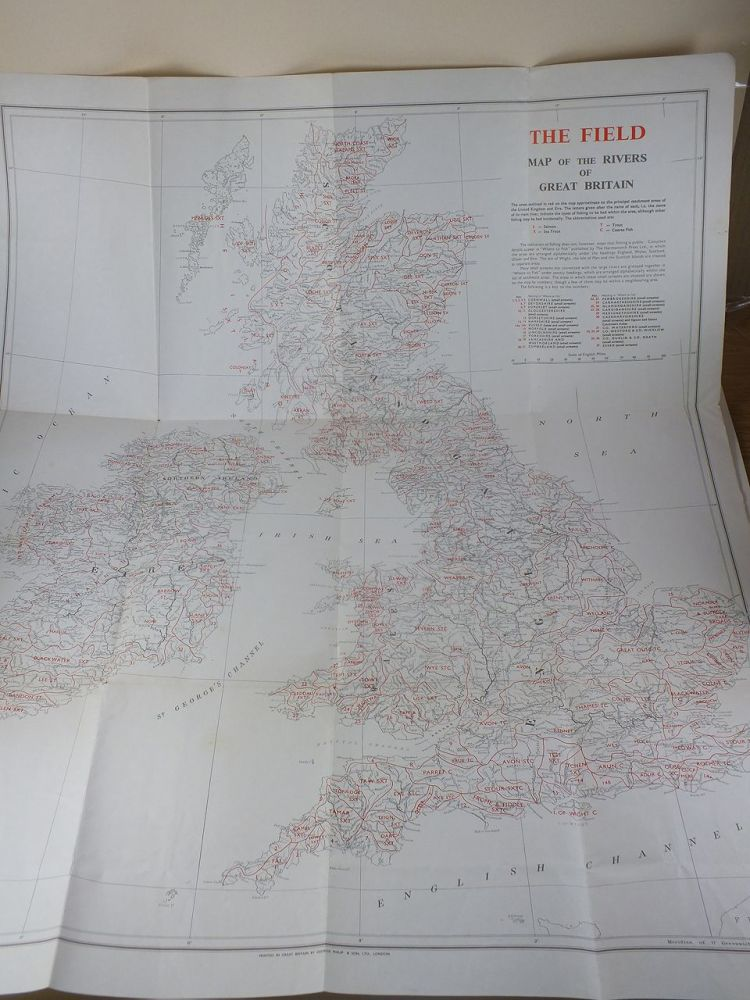 The Field Map Of The Rivers Of Great Britain