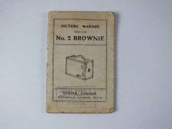 Kodak No 2 Brownie User Instruction Manual Booklet