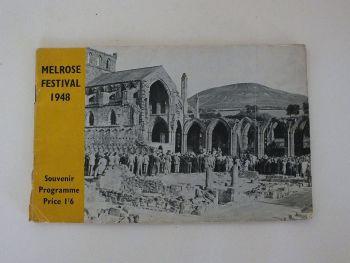 Melrose Festival 1948. Souvenir Programme.