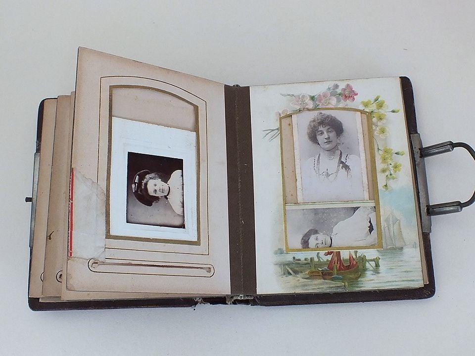 Victorian Carte de Visite (CdV) Photo Album