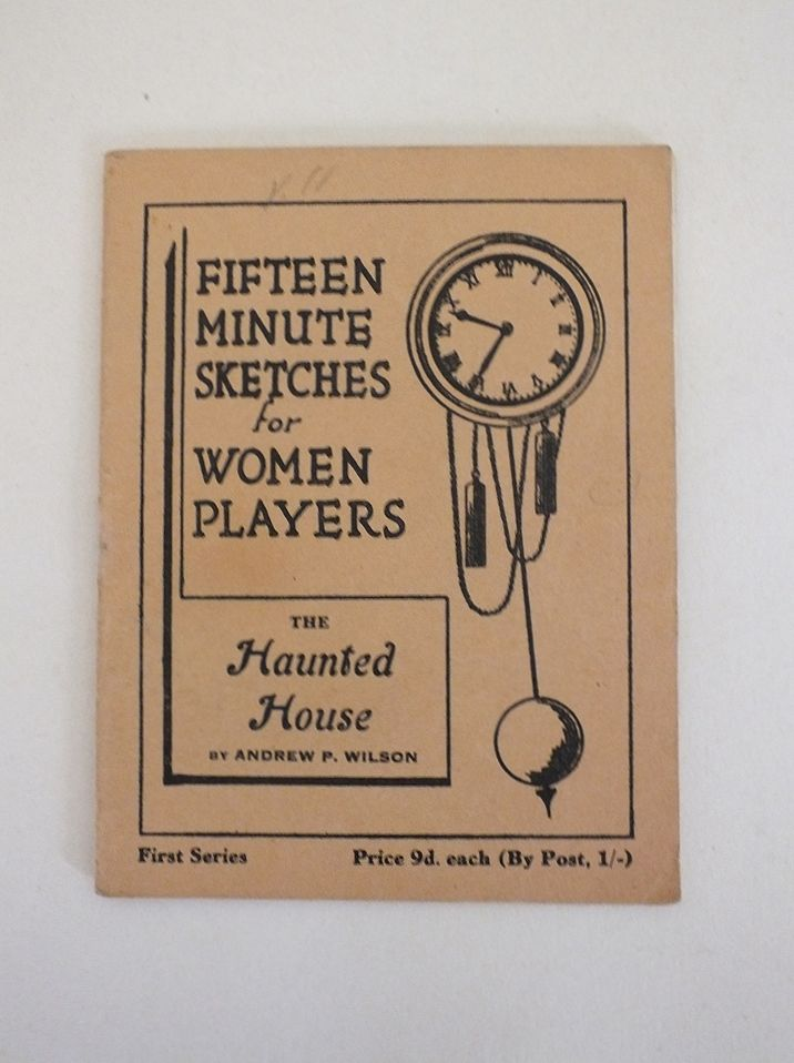 Fifteen Minute Sketches For Women Players - The Haunted House By Andrew P Wilson
