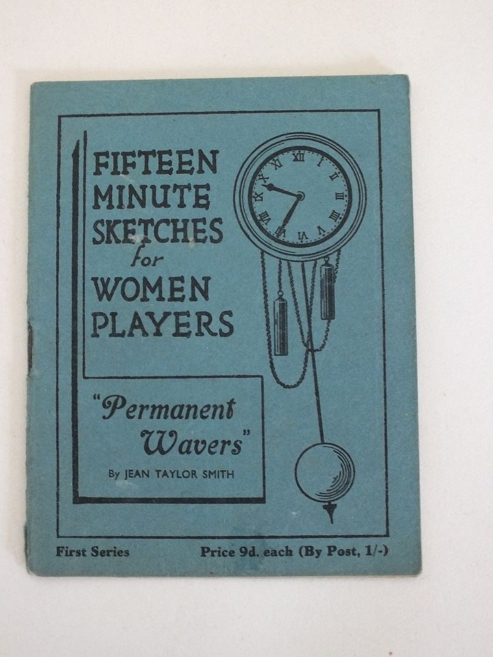 Fifteen Minute Sketches For Women Players - Permanent Wavers By Jean Taylor Smith