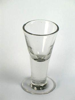 Victorian Dram Glass, Mid 1800s