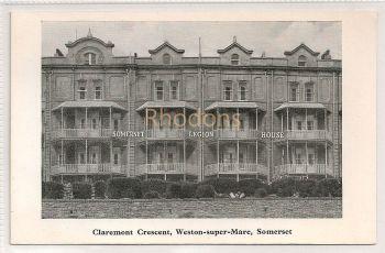 Somerset Legion House (Royal British Legion) Claremont Crescent Weston Super Mare, Somerset