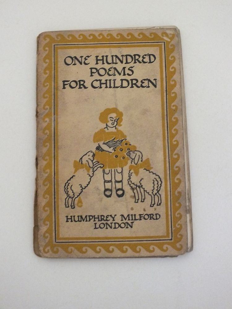 One Hundred Poems For Children Selected And Arranged By Herbert Strang