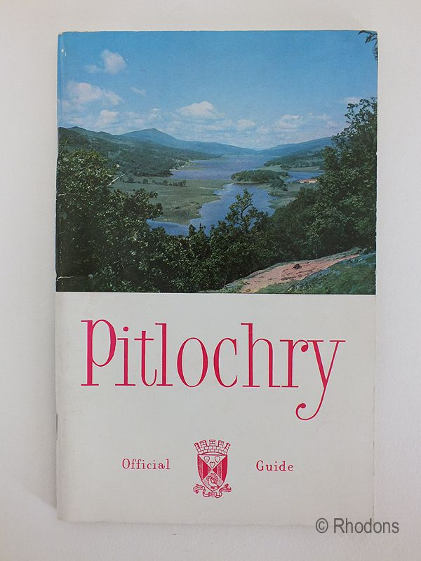 Pitlochry Official Guide Circa 1960s