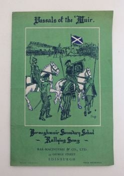 Vassals Of The Muir - Boroughmuir Secondary School Rallying Song. Sheet Music