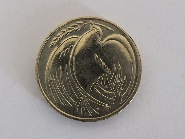 United Kingdom 1995 Two Pounds Coin Commemorating 5Oth Anniversary End of World War Two.