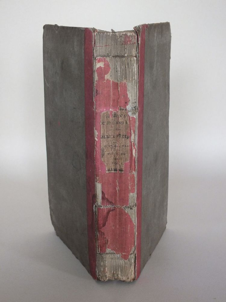 Edward Gibbon, The History of the Decline and Fall of the Roman Empire, Volume I. 1819 New Edition