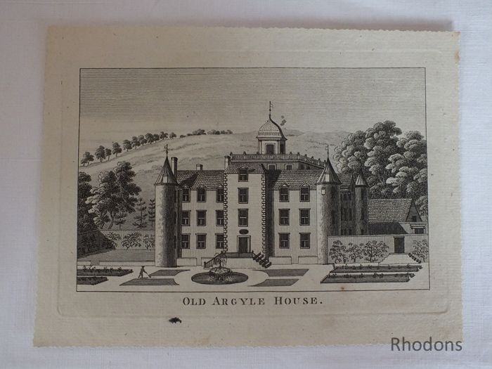 Old Argyle House (Hatton House), Scotland, c1780s