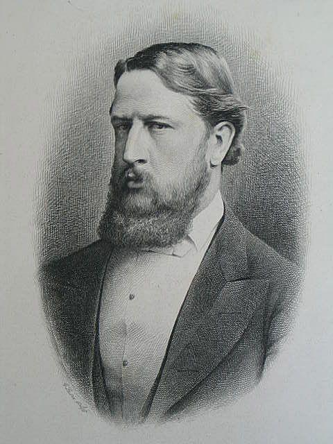 Marquis Of Hartington, 19th Century Portrait Print