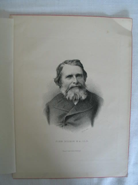 John Ruskin, Victorian Portrait Print By C Laurie