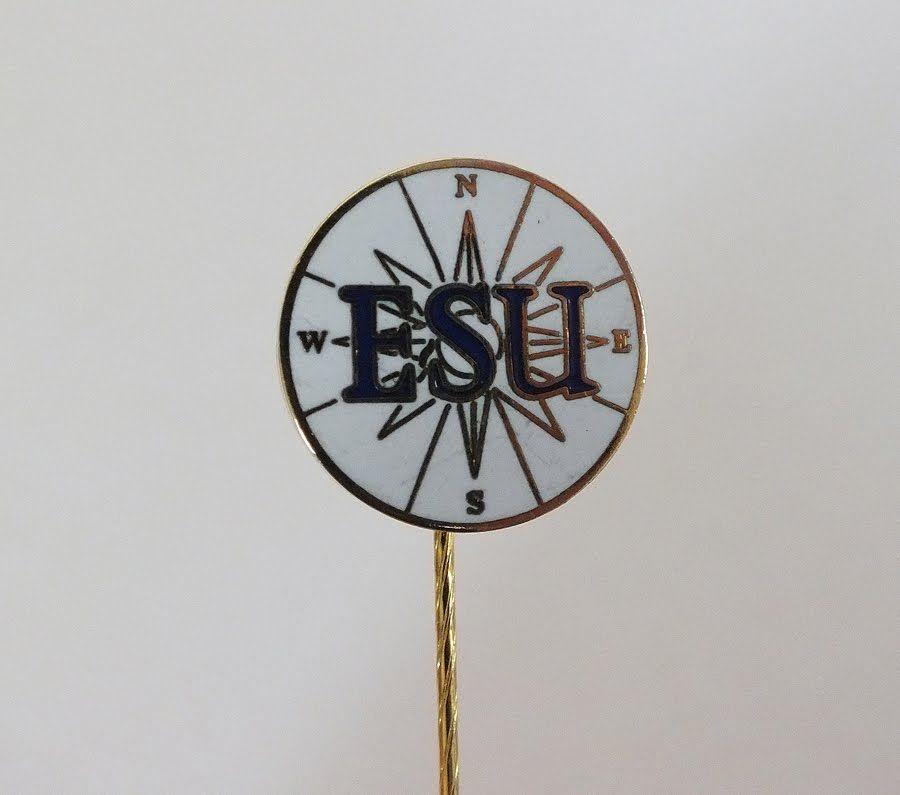ESU, English Speaking Union Lapel Pin Badge (Lot #1)