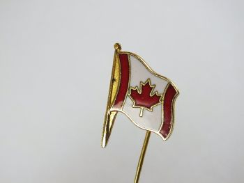 Canada Maple Leaf Stick Pin, Tie Pin, Scarf Pin
