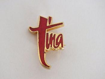 Tina Turner Concert Tour Souvenir Pin Brooch