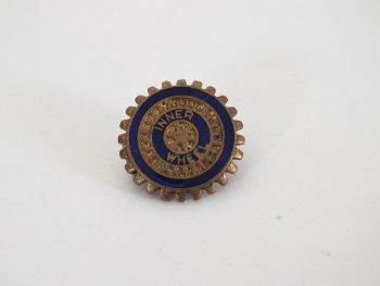 Rotary Club Inner Wheel Lapel Pin Badge