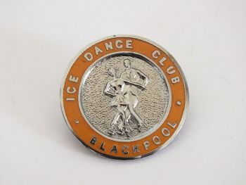 Blackpool Ice Dance Club Enamel Badge