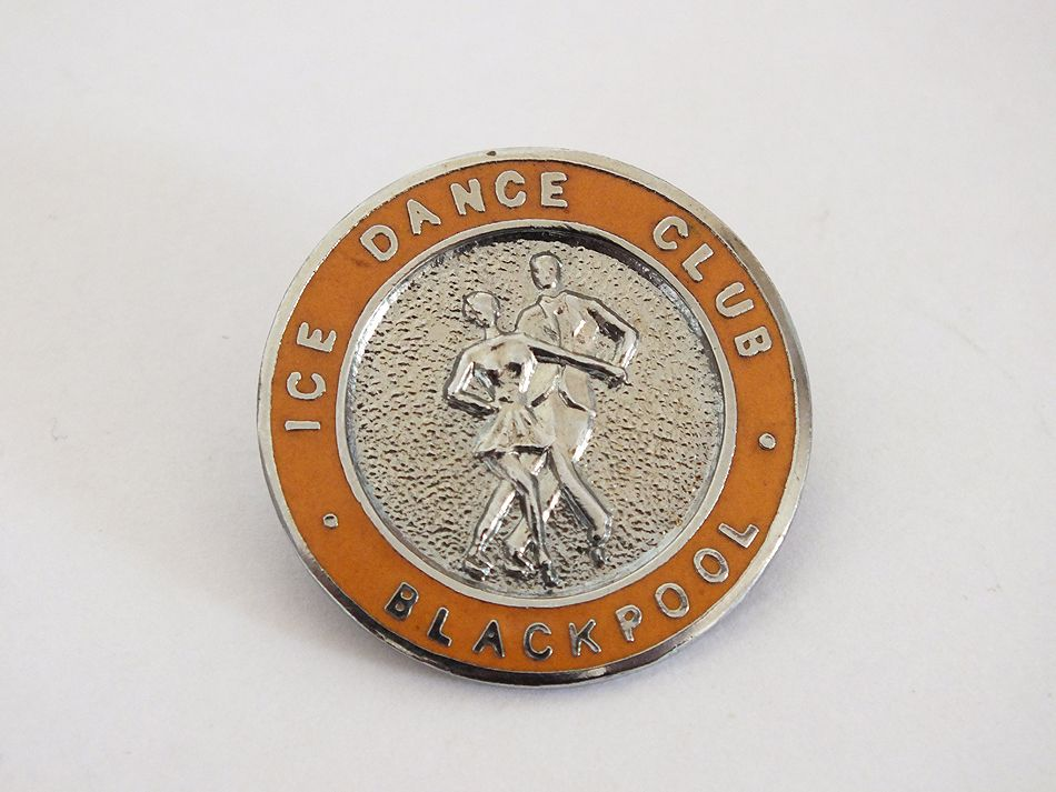Blackpool Ice Dance Club Enamel Badge (RESERVED)
