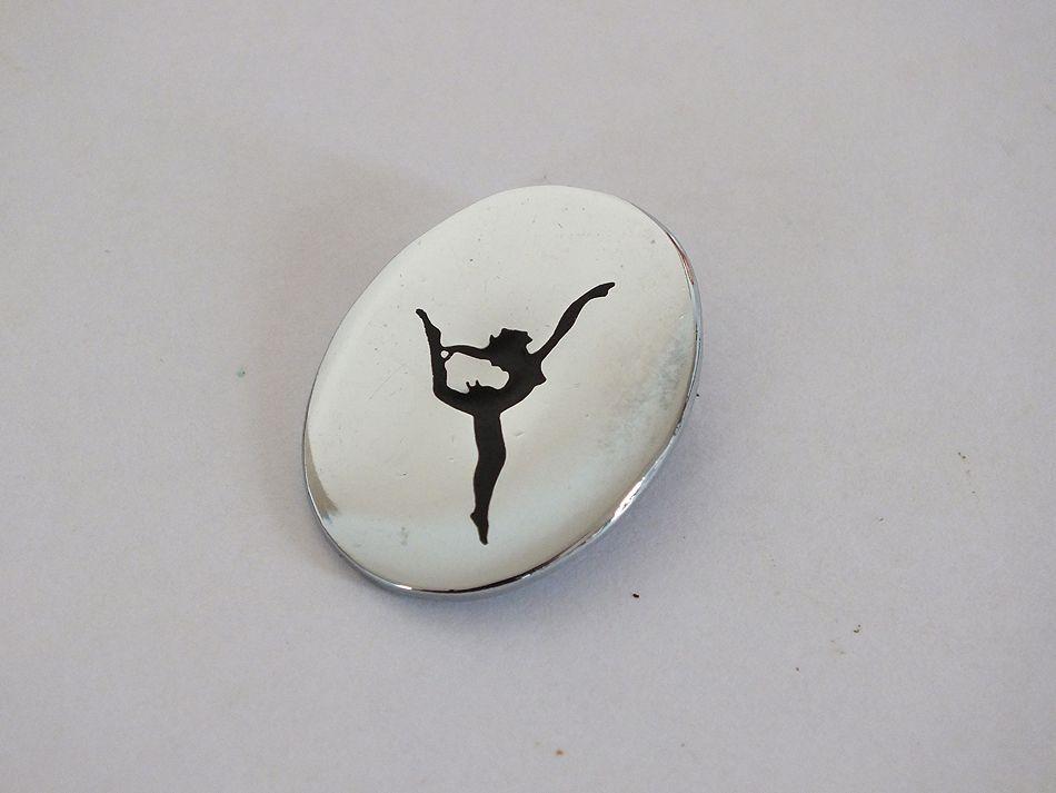 Dance Pin Brooch
