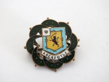 Aberfoyle, Perthshire, Scottish Travel Souvenir Pin Brooch