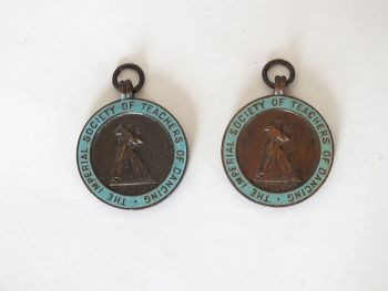 Imperial Society Of Teachers Of Dancing Award Pendants, 1952