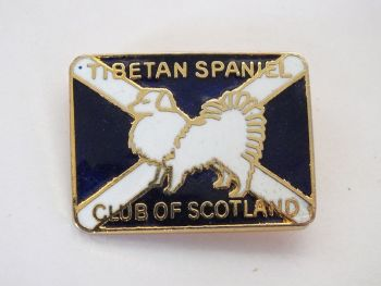 Tibetan Spaniel Club of Scotland Badge