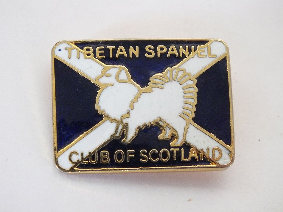 Tibetan Spaniel Cclub of Scotland Badge