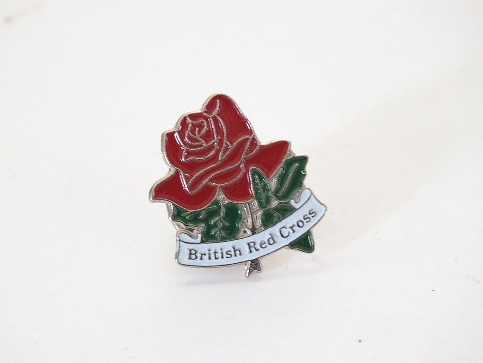 British Red Cross Society Lapel, Tie Pin Badge
