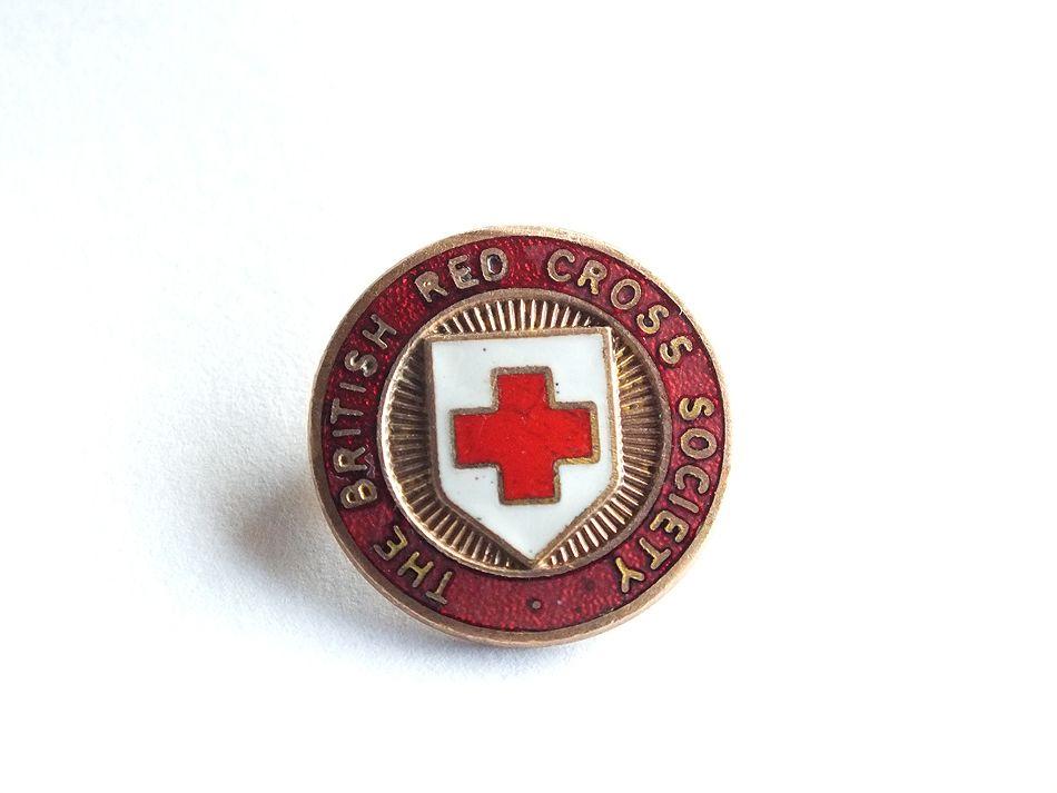 British Red Cross Society Pin Brooch