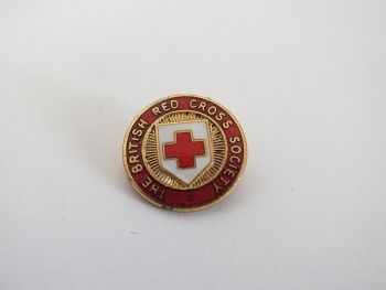 British Red Cross Society (BRCS) Associate Member Lapel Pin