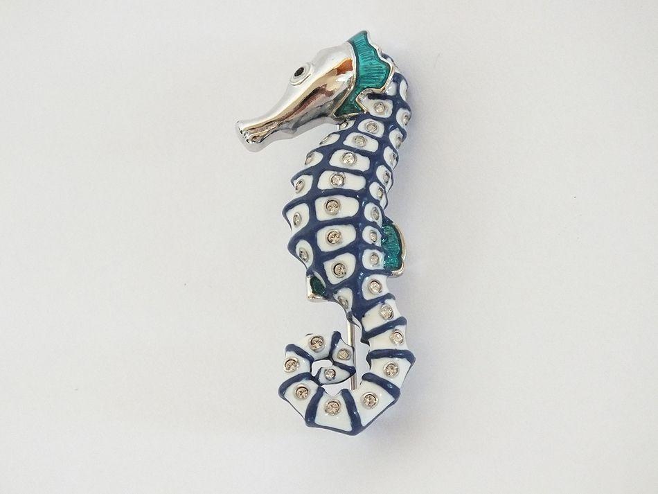 Seahorse Pin Brooch