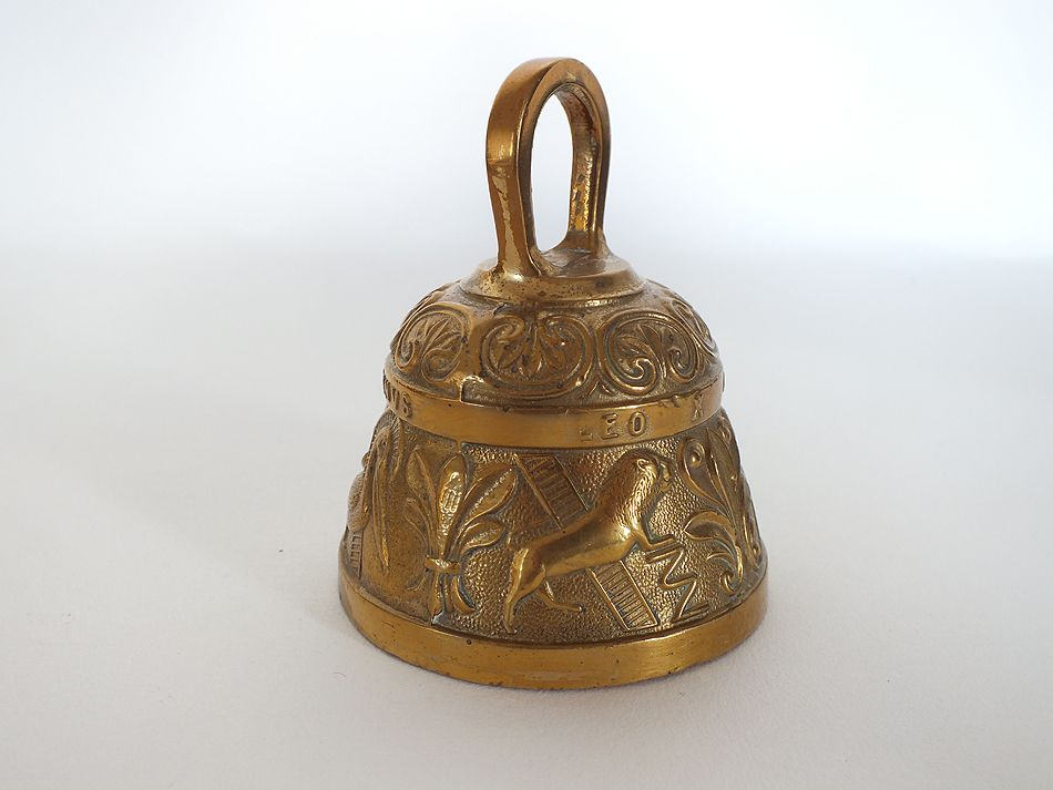 Heavy Cast Brass Sanctuary, Sanctus, Prayer Bell